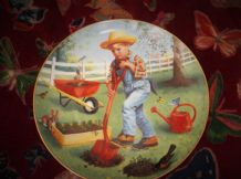 ELAINE GIGNILLIAT DANBURY MINT LTD EDITION PLATE CHILDREN WEEK SATURDAYS CHILD